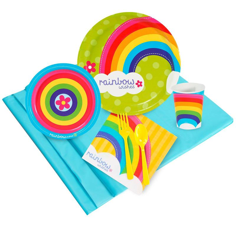 Birthday Express Rainbow Wishes Party Pack