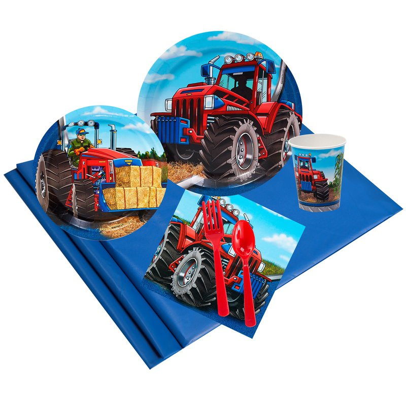 Birthday Express Farm Tractor Party Pack