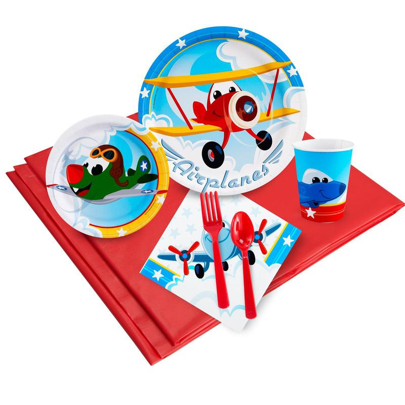 Birthday Express Airplane Adventure Party Pack