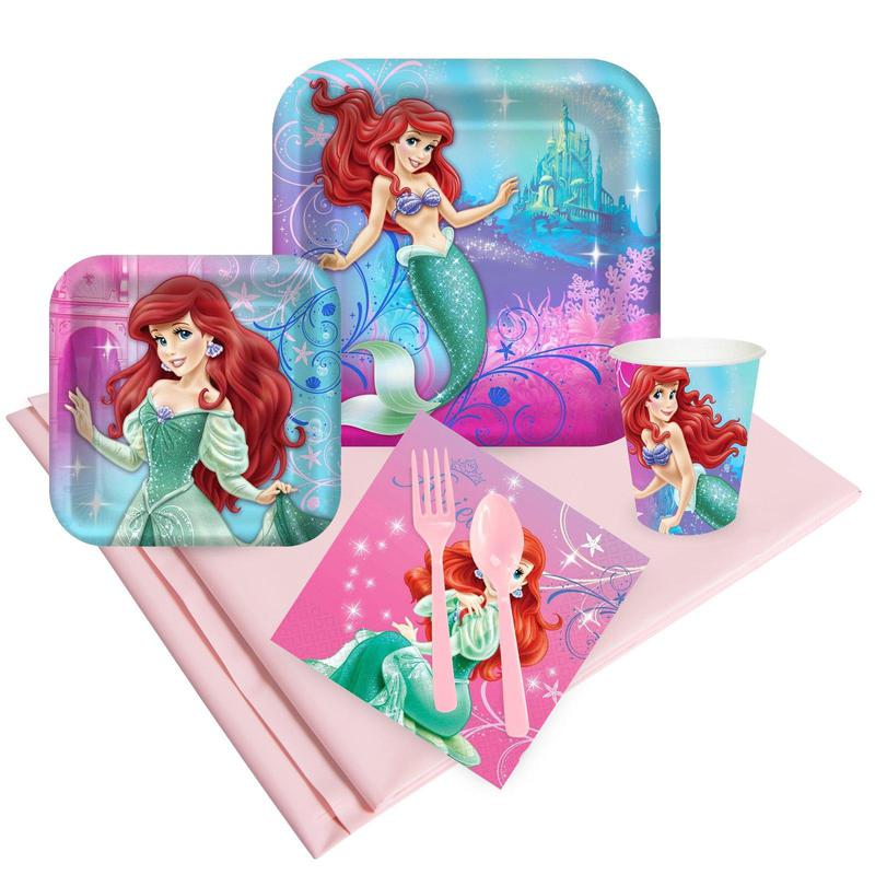 Birthday Express Little Mermaid Sparkle Party Pack