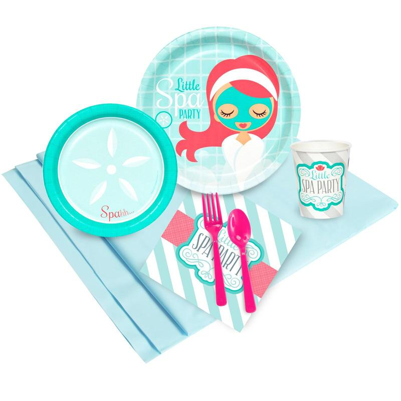 Birthday Express Little Spa Party Pack