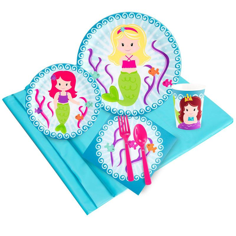 Birthday Express Mermaids Party Pack