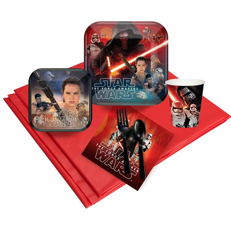 Birthday Express Star Wars 7 The Force Awakens Party Pack