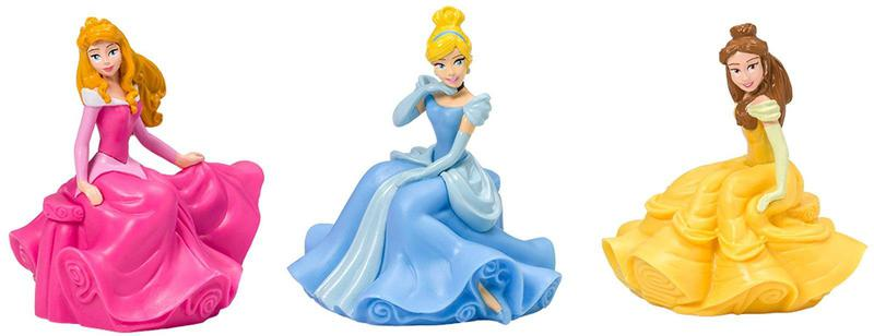 Deco Pac Disney Princess Cake Topper (3 pieces)