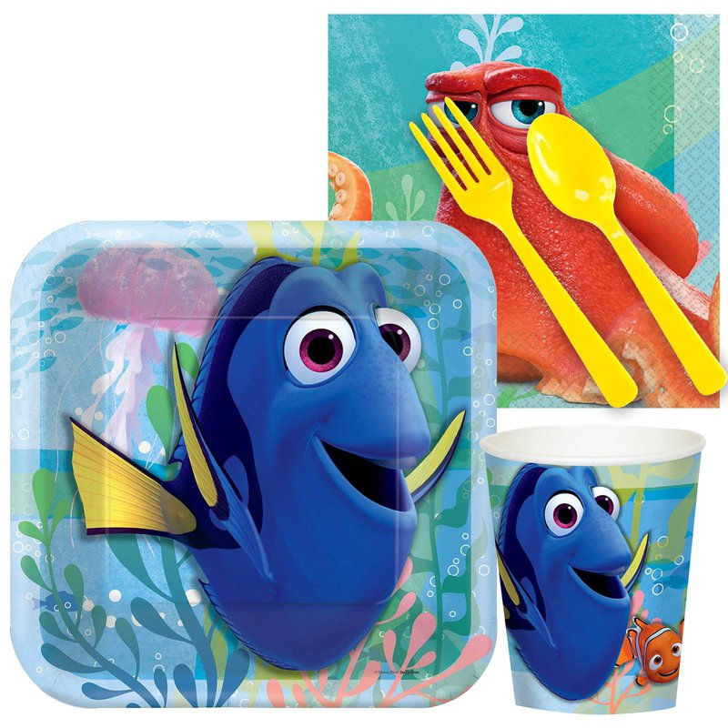 Birthday Express Finding Dory Snack Party Pack