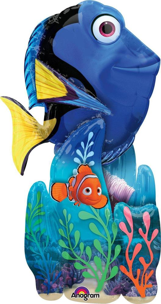 Mayflower Distributing Finding Dory Airwalker Foil Balloon Blue