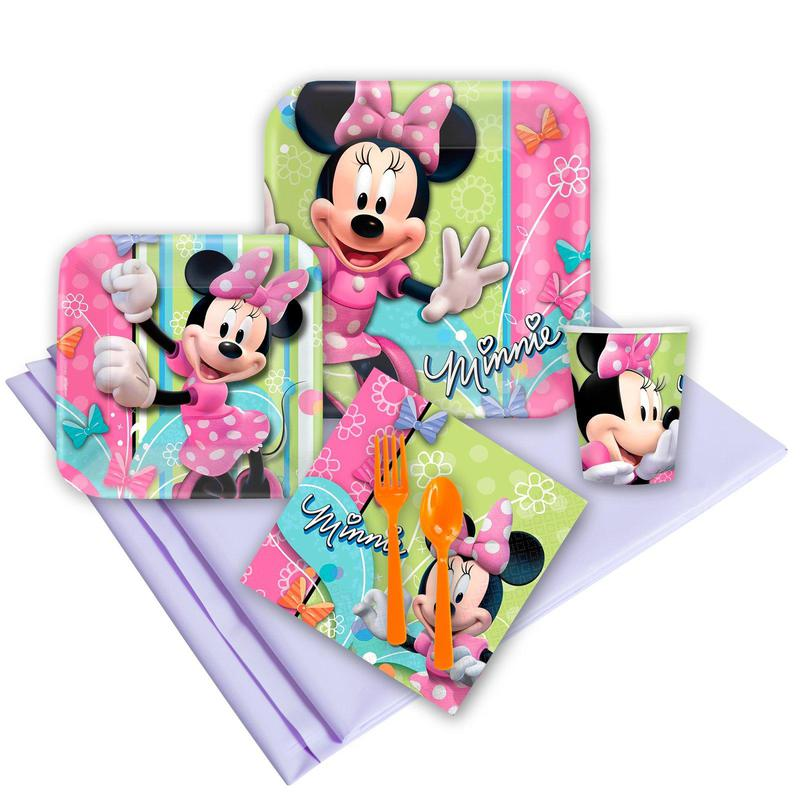 BuySeasons Minnie Mouse Dream Party Pack