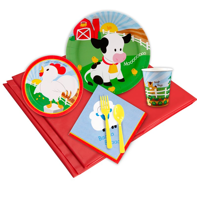 BuySeasons Barnyard Party Pack