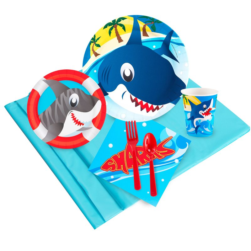 Birthday Express Sharks Party Pack