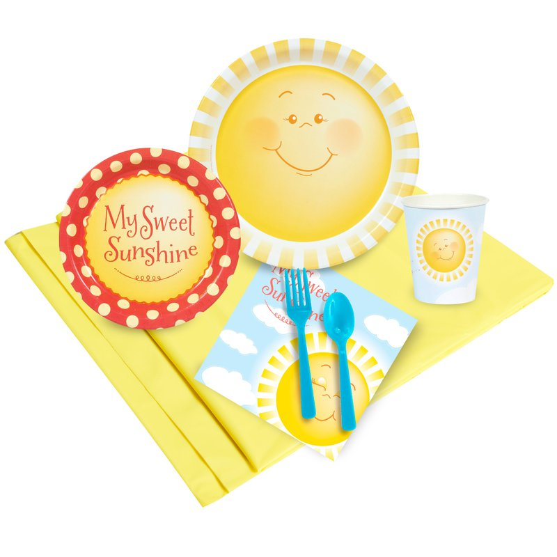 Birthday Express Little Sunshine Party Pack