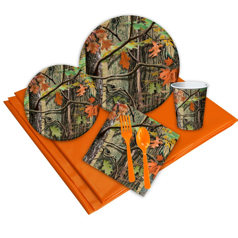 Birthday Express Hunting Camo Party Pack
