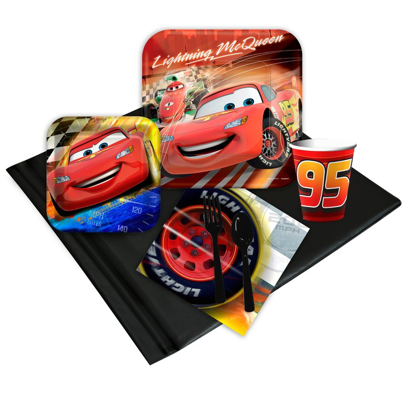 Disney Cars Dream Party Pack: Multi-colored, Birthday