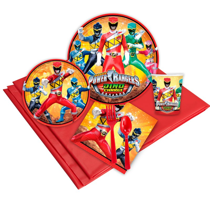 Birthday Express Power Rangers Dino Charge Party Pack