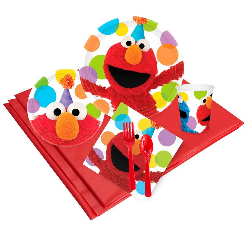BuySeasons Sesame Street Elmo Party Pack