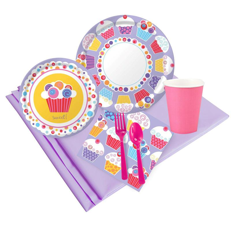 BuySeasons Sweet Cupcake Party Pack