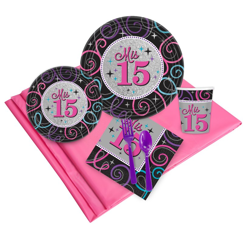 Birthday Express Mis Quince Anos Party Pack