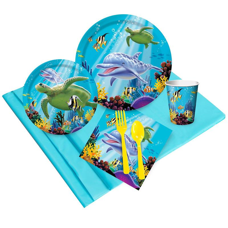 Birthday Express Dolphin Party Party Pack
