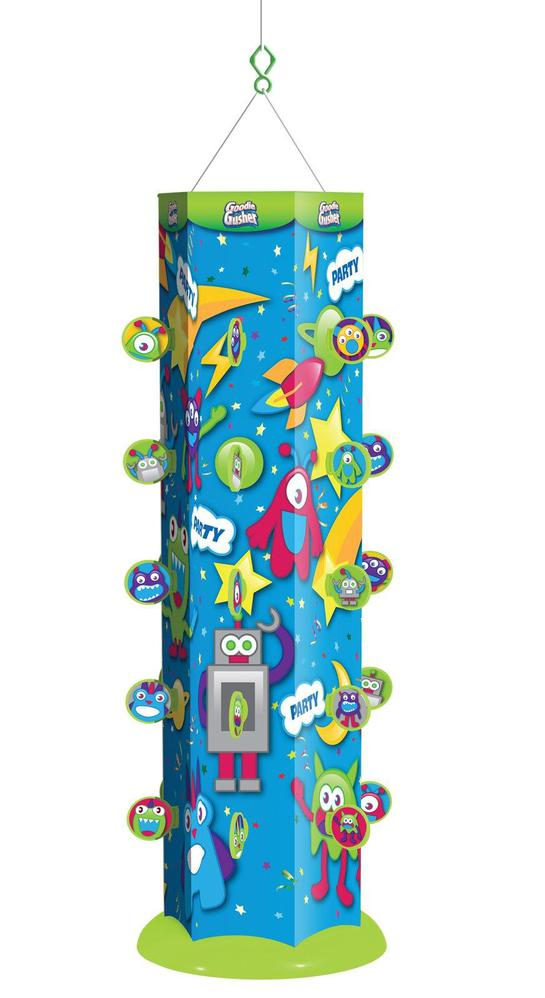 Best Party Concepts Goodie Gusher Blue Space Monsters Pinata