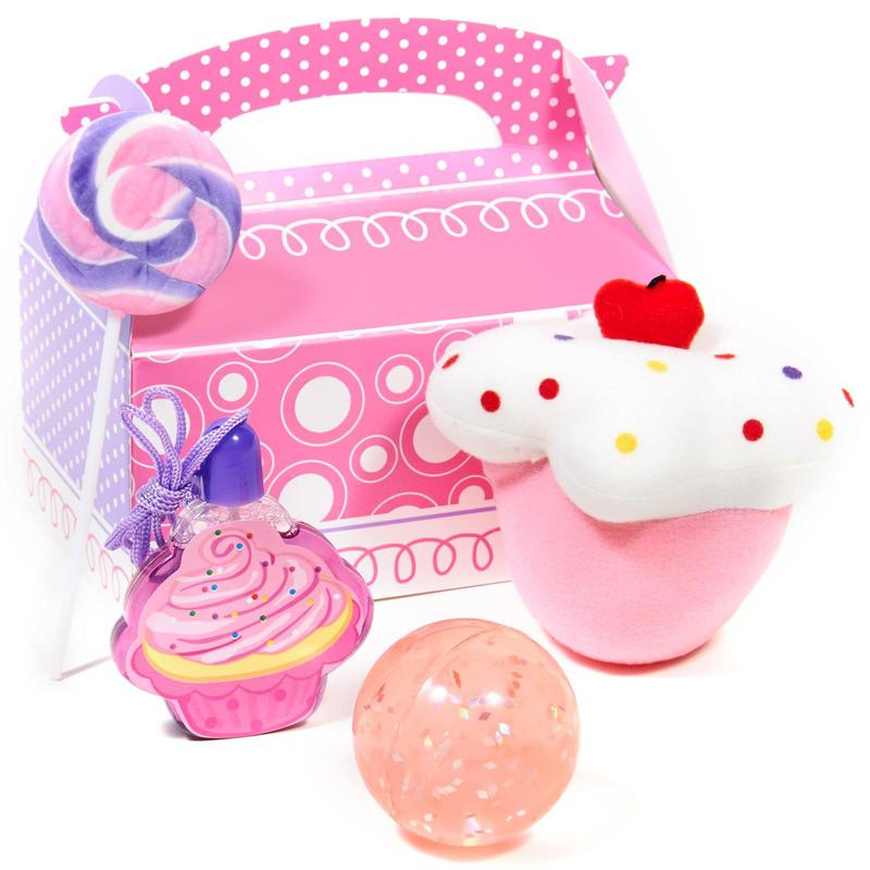 BuySeasons Sweet Cupcake Party Filled Favor Box