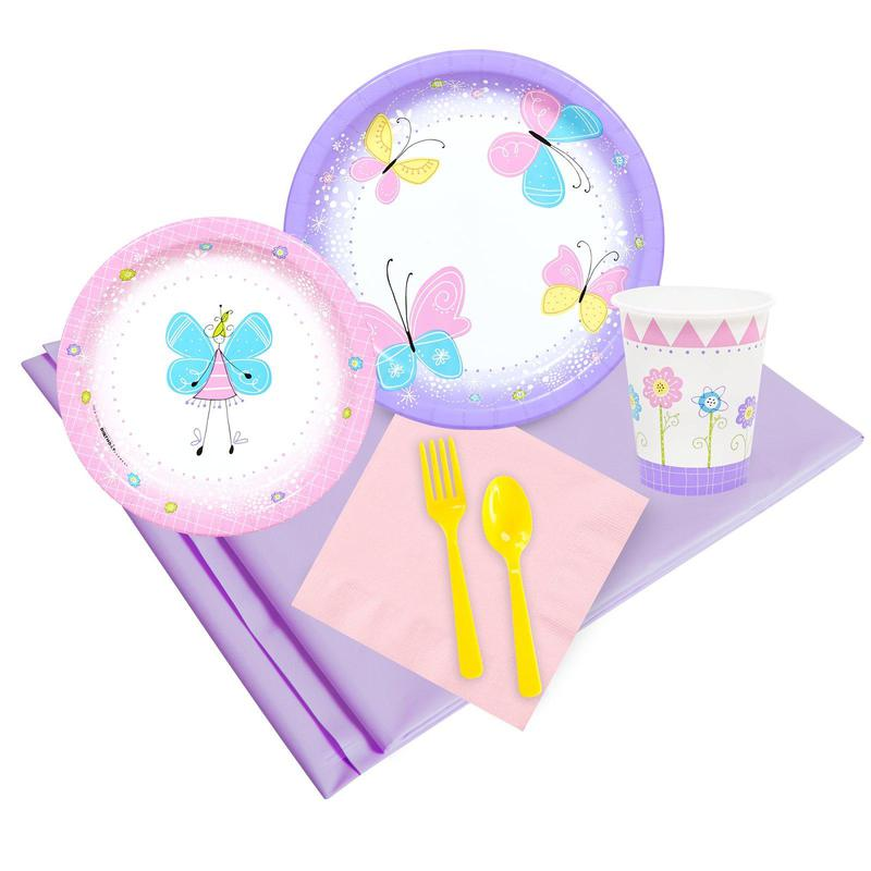 BuySeasons Butterfly Party Pack