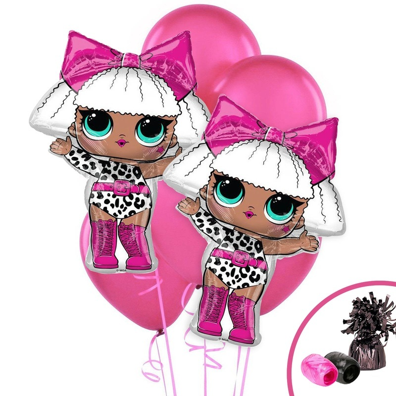 Birthday express lol surprise diva jumbo balloon bouquet birthday party supplies online kid - Diva lol surprise ...