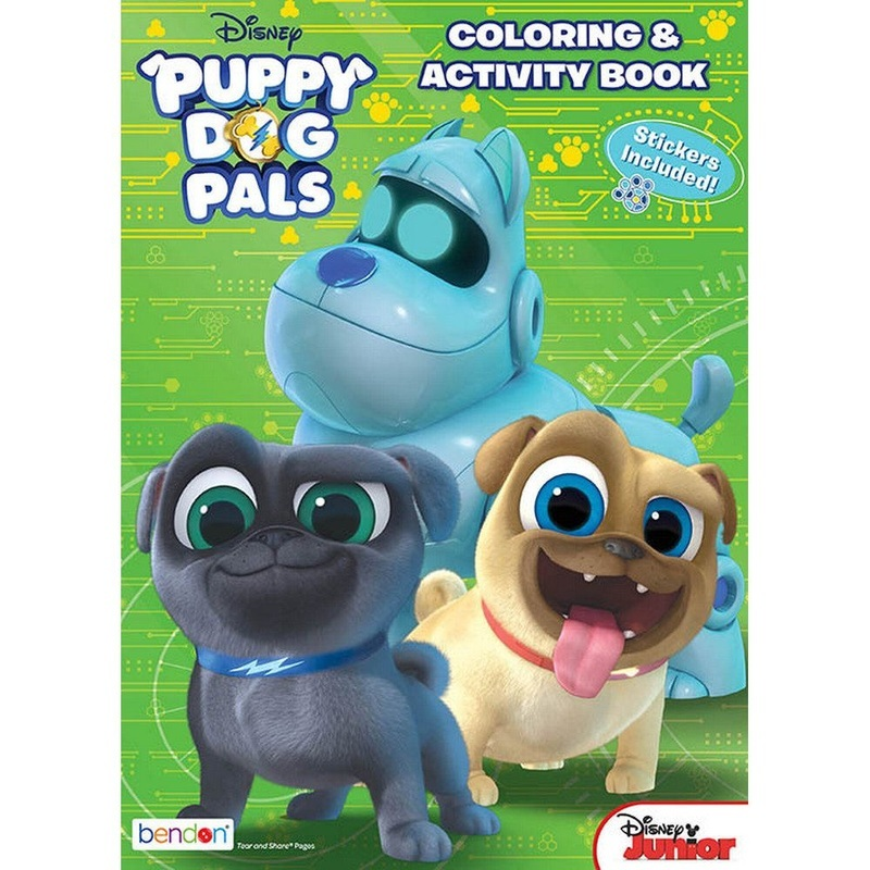 Bendon Publishing Puppy Dog Pals Activity Book With