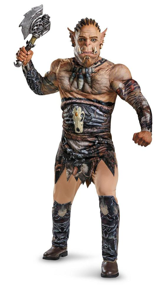 Disguise Warcraft Durotan Deluxe Muscle Adult Costume X-Large