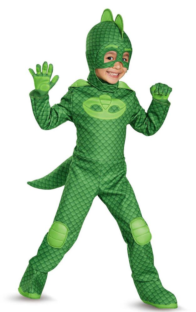 Disguise PJ Masks Gekko Deluxe Child Costume Child Size (4-6)