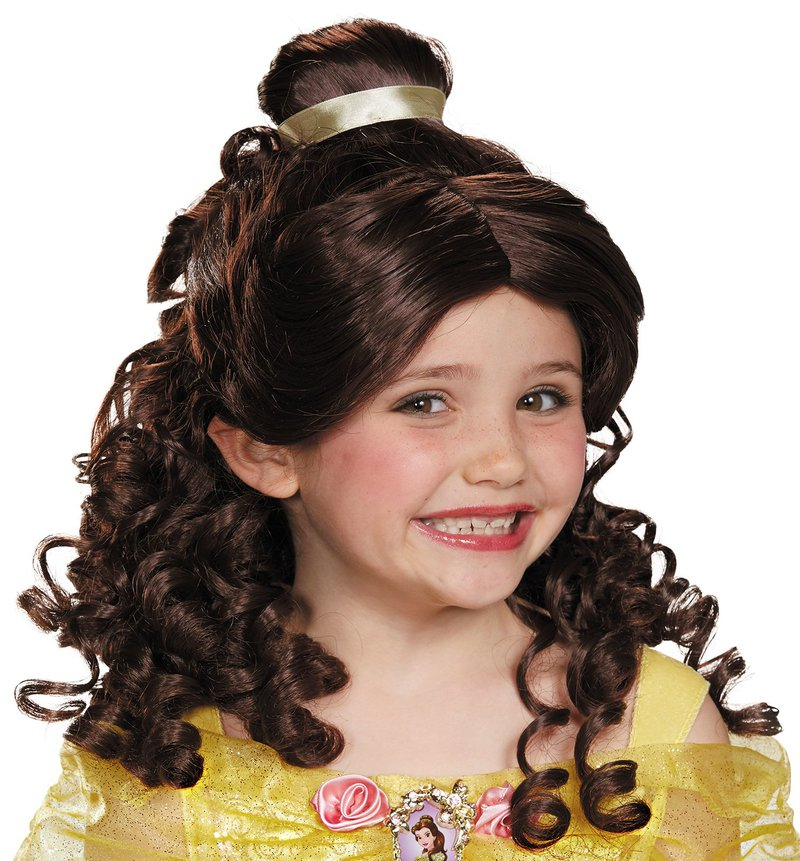Disguise Beauty and the Beast Belle Child Wig