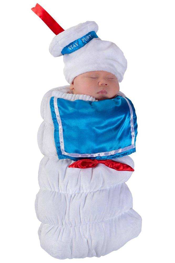 Princess Paradise Ghostbusters Stay Puft Swaddle 0-3M