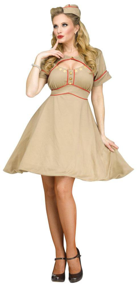 Fun World Army Gal Adult Costume Small