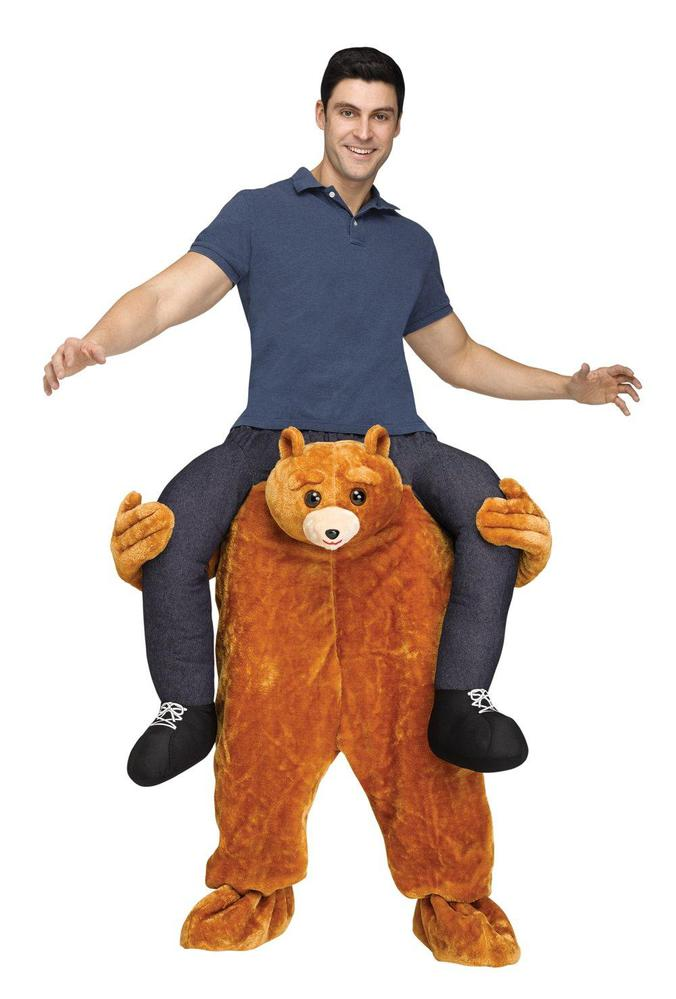 Fun World Ride a Bear Adult Costume Standard