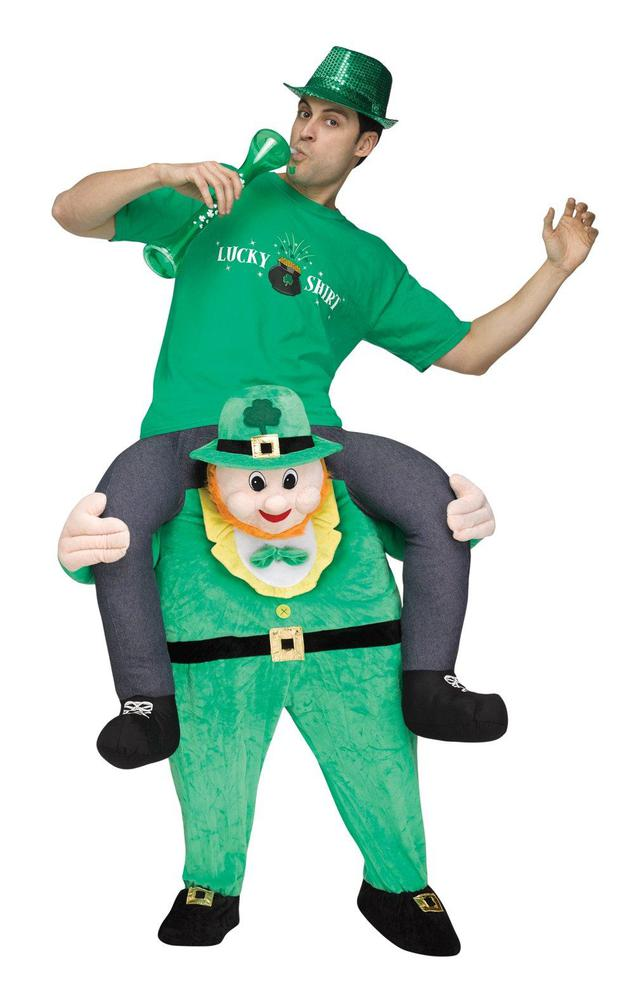 Fun World Ride a Leprechaun Adult Costume Standard