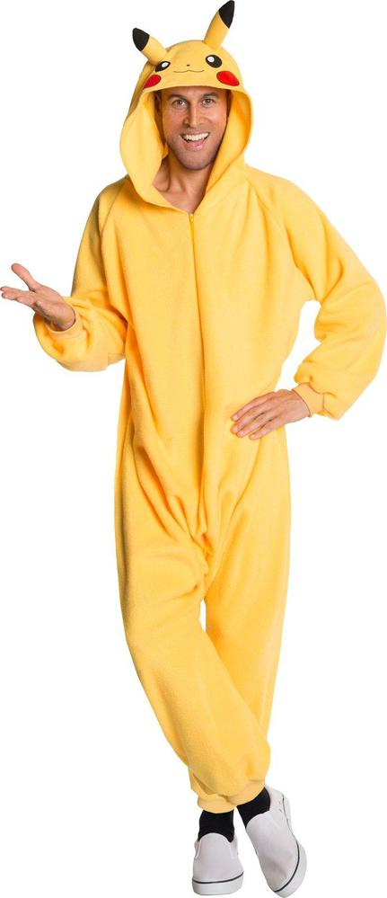 Rubie's Costumes Pokemon: Pikachu Jumpsuit Adult Costume Standard