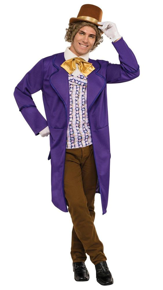Rubie's Costumes Willy Wonka & the Chocolate Factory: Willy Wonka Deluxe Adult Costume Standard