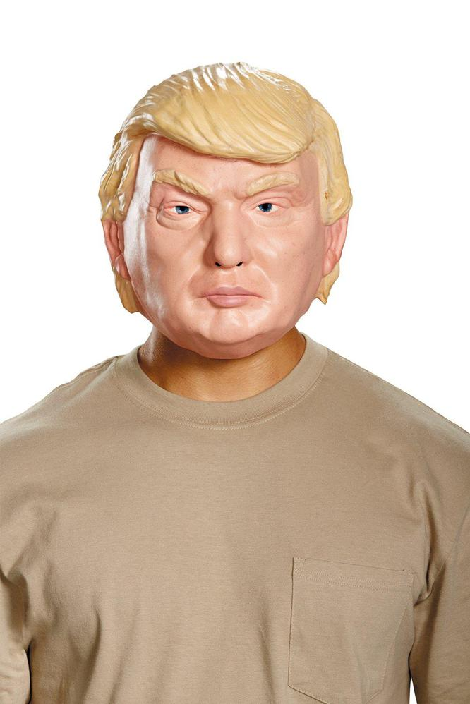 Disguise The Candidate Vacuform Election Half Mask