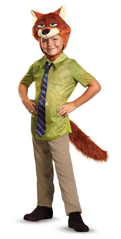 Disguise Zootopia Nick Wilde Classic Toddler Costume 3-4T
