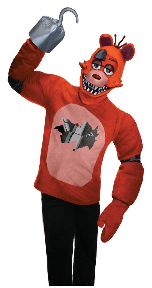Rubie's Costumes Five Nights at Freddys: Foxy Adult Costume Standard