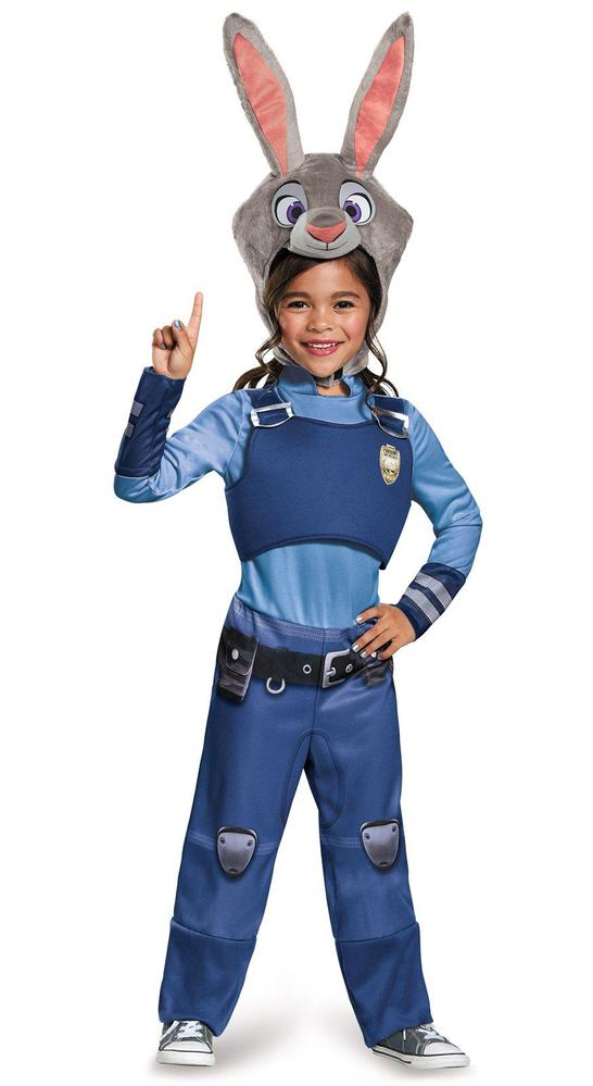 Disguise Zootopia Judy Hopps Classic Toddler Costume 3-4T
