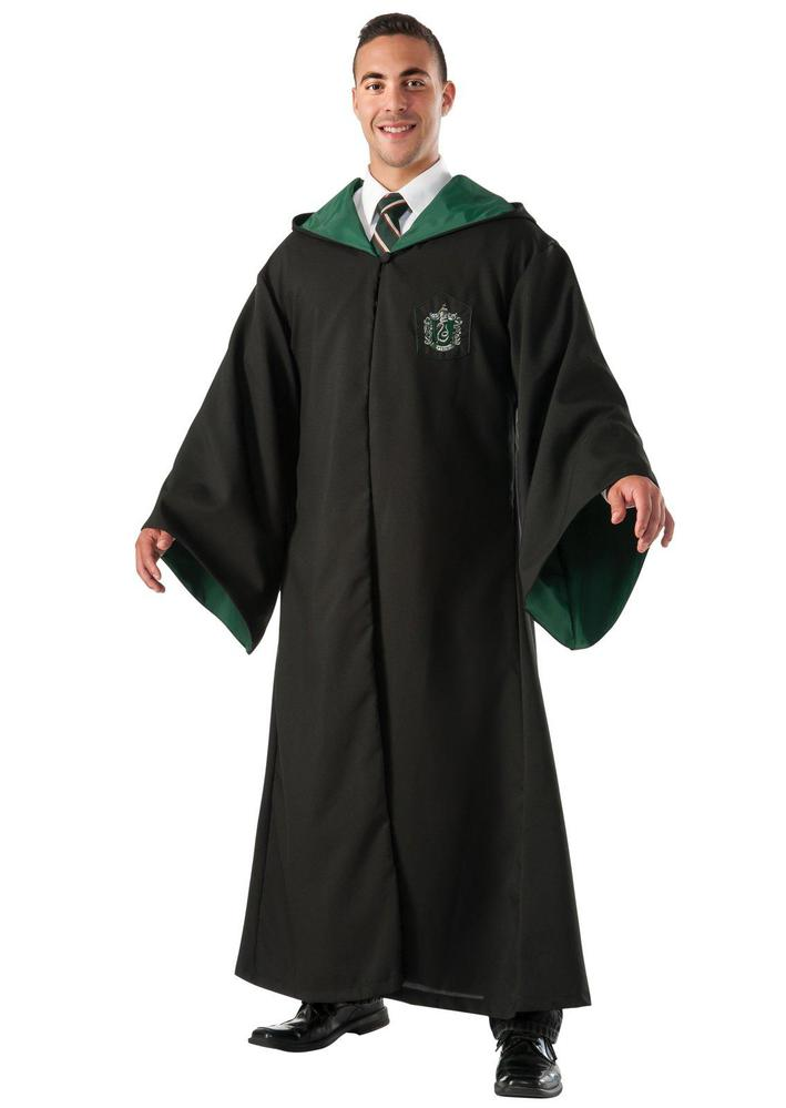 Rubie's Costumes Harry Potter Slytherin Replica Deluxe Robe Adult Costume One Size Fits Most