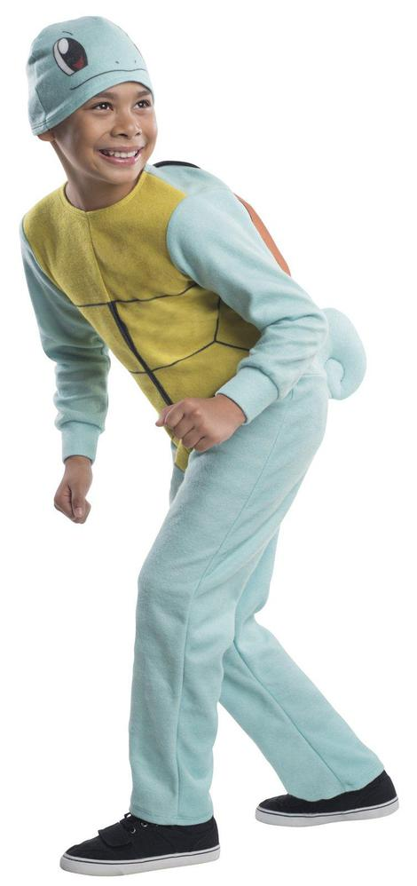 Pokemon Squirtle Child Costume Small 4 6 Boys