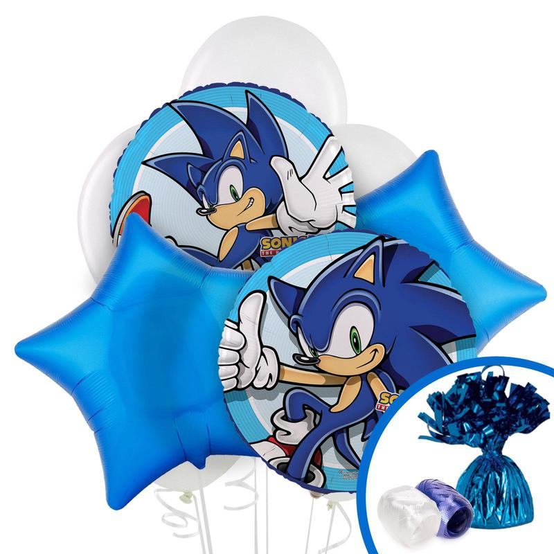 Birthday Express Sonic the Hedgehog Balloon Bouquet