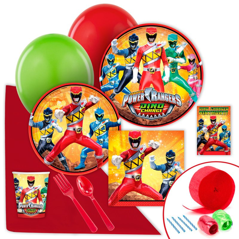 Birthday Express Power Rangers Dino Charge Value Party Pack