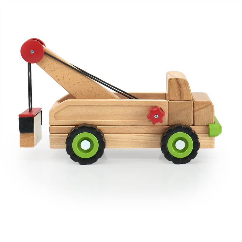 Guidecraft Big Block Tow Truck