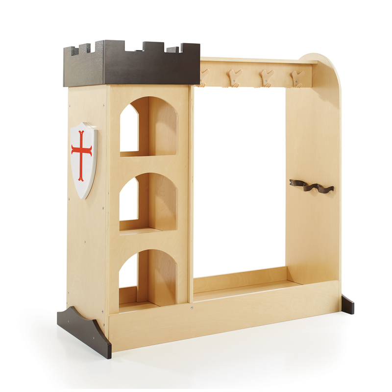 Guidecraft Castle Dramatic Play Storage