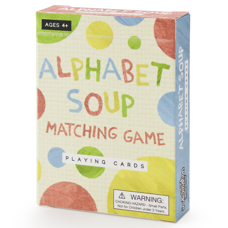Alphabet Soup Matching and Memory Card Game