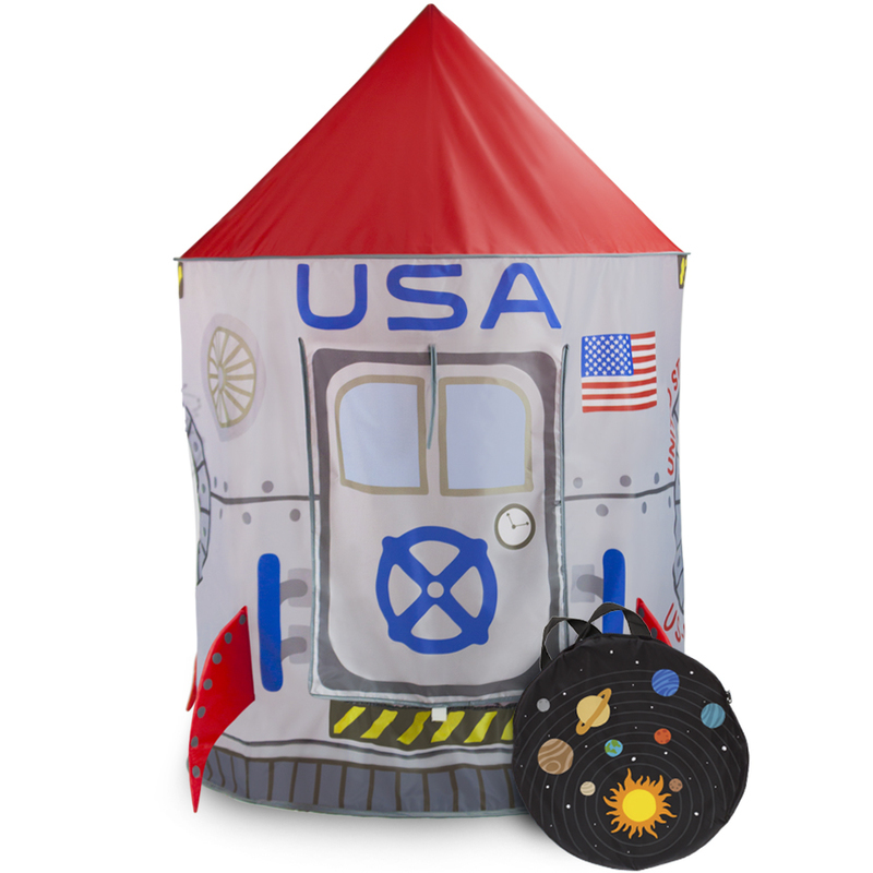Space Adventure Roarin' Rocket Play Tent