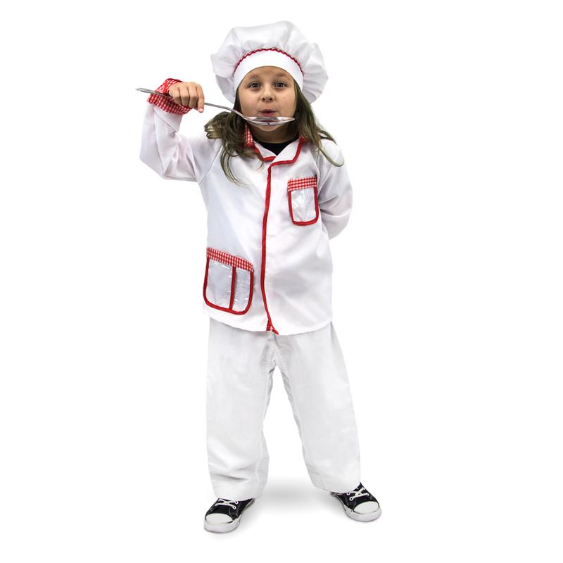 master chef children 39 s costume 7 9 girls 39 costumes online kid stuff station. Black Bedroom Furniture Sets. Home Design Ideas