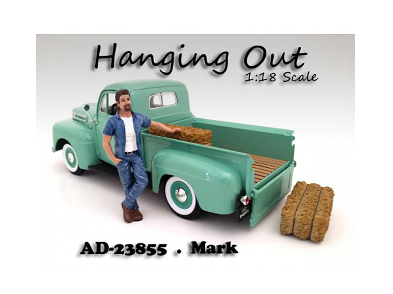"""Hanging Out\"" Mark Figure For 1:18 Scale Models by American Diorama"