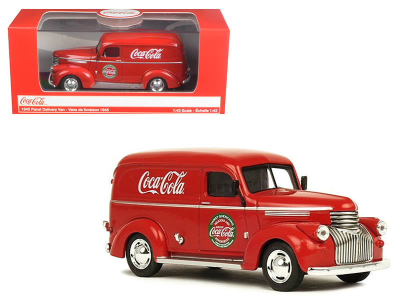 1945 Coca Cola Panel Delivery Van 1/43 Diecast Model Car by Motorcity Classics